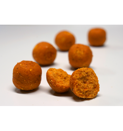 CBB HQ Baits Spicy Peach 20 MM Emmer 7 KG