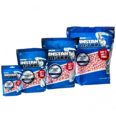 Nash Instant Action Strawberry Crush 20mm 1kg